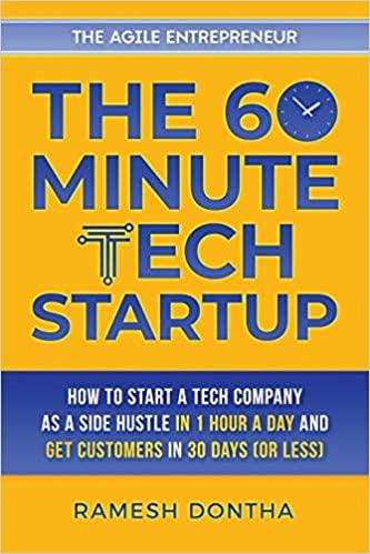 60 minute tech startup